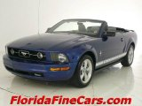 2007 Vista Blue Metallic Ford Mustang V6 Premium Convertible #2226580