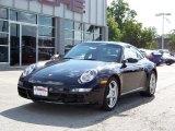 2008 Black Porsche 911 Carrera Coupe #222661