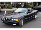 1997 Jet Black BMW 3 Series 328i Convertible #22259932