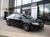 2008 Brilliant Black Audi A4 2.0T quattro S-Line Sedan #22271948