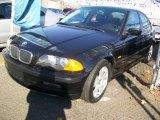 2000 Jet Black BMW 3 Series 323i Sedan #22351025