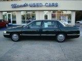 1997 Polo Green Metallic Cadillac DeVille d'Elegance #22350573