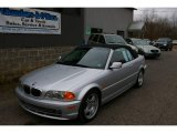 2001 Titanium Silver Metallic BMW 3 Series 330i Convertible #22273091