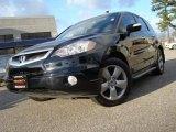 2008 Nighthawk Black Pearl Acura RDX Technology #22314107