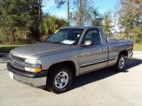 2002 Light Pewter Metallic Chevrolet Silverado 1500 LS Regular Cab #22334058