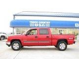 2006 Victory Red Chevrolet Silverado 1500 LT Crew Cab 4x4 #22329467