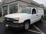 2006 Summit White Chevrolet Silverado 1500 Work Truck Regular Cab #22267747