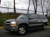 Medium Charcoal Gray Metallic Chevrolet Suburban in 2001