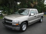 2000 Light Pewter Metallic Chevrolet Silverado 1500 LT Extended Cab #22342523