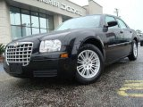 2008 Brilliant Black Crystal Pearl Chrysler 300 LX #22290303