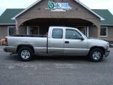 1999 Light Pewter Metallic Chevrolet Silverado 1500 LS Extended Cab #22277830