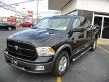 2010 Brilliant Black Crystal Pearl Dodge Ram 1500 TRX Crew Cab #22355498