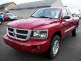 2010 Inferno Red Crystal Pearl Dodge Dakota Big Horn Extended Cab #22316079