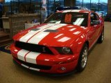 2007 Torch Red Ford Mustang Shelby GT500 Coupe #22326213
