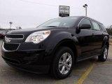 2010 Black Chevrolet Equinox LS #22423913