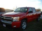 2007 Victory Red Chevrolet Silverado 1500 LT Crew Cab #22329972