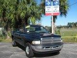 2001 Patriot Blue Pearl Dodge Ram 1500 SLT Club Cab #22318861
