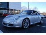 2007 Arctic Silver Metallic Porsche 911 Carrera S Cabriolet #11370622
