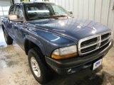 2004 Atlantic Blue Pearl Dodge Dakota Sport Quad Cab 4x4 #22328293