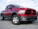 2010 Inferno Red Crystal Pearl Dodge Ram 1500 TRX4 Quad Cab 4x4 #22412803