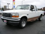 1995 Oxford White Ford F150 Eddie Bauer Extended Cab 4x4 #22286271