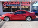 1999 Laser Red Metallic Ford Mustang GT Coupe #22423884