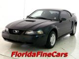 2001 Black Ford Mustang V6 Coupe #22417018