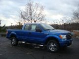 2010 Blue Flame Metallic Ford F150 STX SuperCab 4x4 #22294893