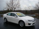 2010 White Platinum Tri-coat Metallic Ford Fusion SEL V6 #22294845