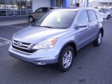 2010 Glacier Blue Metallic Honda CR-V EX-L #22282485