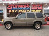 1998 Char Gold Satin Glow Jeep Grand Cherokee Limited 4x4 #22274826