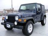 2006 Midnight Blue Pearl Jeep Wrangler Rubicon 4x4 #22330798