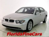 2003 Titanium Silver Metallic BMW 7 Series 745Li Sedan #22417019