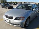2007 Titanium Silver Metallic BMW 3 Series 335i Sedan #22327662