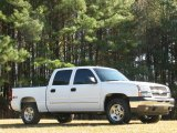 2005 Summit White Chevrolet Silverado 1500 Z71 Crew Cab 4x4 #22273436