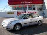 2005 Galaxy Silver Metallic Chevrolet Malibu Sedan #22266294