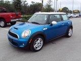 2007 Laser Blue Metallic Mini Cooper S Hardtop #22334060