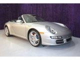 2007 Arctic Silver Metallic Porsche 911 Carrera S Cabriolet #22325114