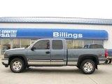 2006 Blue Granite Metallic Chevrolet Silverado 1500 LT Extended Cab 4x4 #22329470