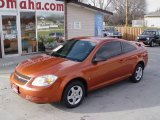 2007 Sunburst Orange Metallic Chevrolet Cobalt LS Coupe #22274526