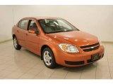 2007 Sunburst Orange Metallic Chevrolet Cobalt LT Sedan #22281991