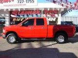 2004 Flame Red Dodge Ram 1500 SLT Quad Cab 4x4 #22325293