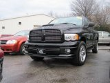 2004 Black Dodge Ram 1500 SLT Quad Cab 4x4 #22280661
