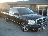 2006 Brilliant Black Crystal Pearl Dodge Ram 1500 Laramie Quad Cab #22329976