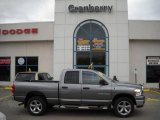 2007 Mineral Gray Metallic Dodge Ram 1500 Big Horn Edition Quad Cab 4x4 #22418686