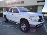 2007 Bright White Dodge Ram 1500 SLT Quad Cab 4x4 #22378205