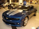 2010 Aqua Blue Metallic Chevrolet Camaro SS/RS Coupe #22260212