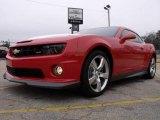 2010 Inferno Orange Metallic Chevrolet Camaro SS/RS Coupe #22423909