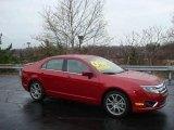 2010 Sangria Red Metallic Ford Fusion SE #22294830