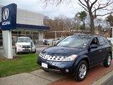 2004 Midnight Blue Pearl Nissan Murano SL AWD #22352146